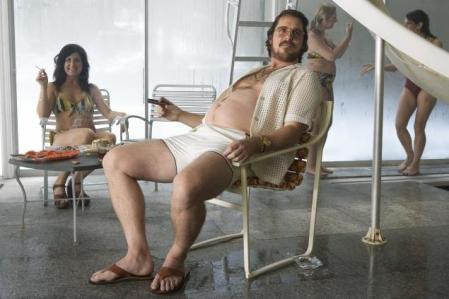 Christian Bale in full method-mode.